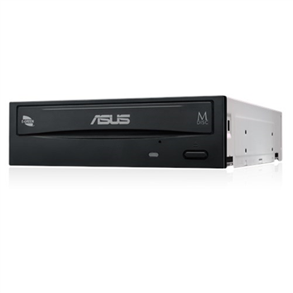Picture of Asus DRW-24D5MT Internal, Interface SATA, DVD±RW, CD read speed 48 x, CD write speed 48 x, Black