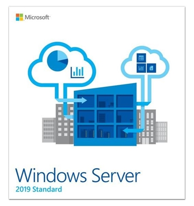 Picture of Microsoft Windows Server 2019 Standard  P73-07788 DVD-ROM,  16 cores, Licence, EN