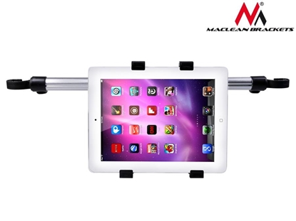 Изображение Maclean MC-657 Headrest Rear Seat Car Holder Mount for iPad 1 2 3 4, Air & 10''