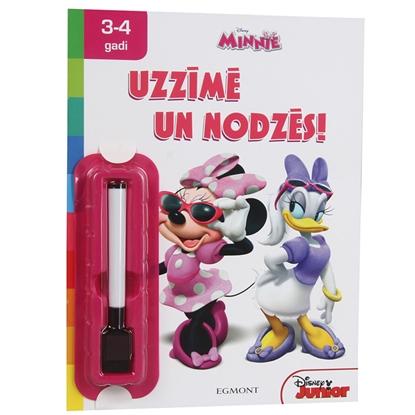 Attēls no Grāmata Minnie uzlīmē un nodzēs 3-4gadi Disney