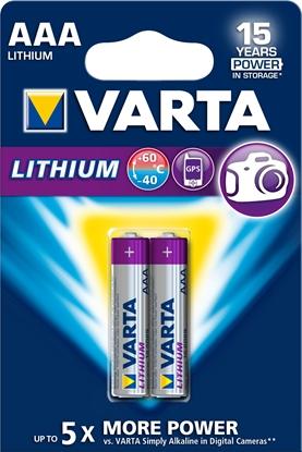 Изображение 1x2 Varta Ultra Lithium Micro AAA LR03