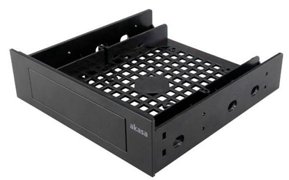 Attēls no Akasa 5.25'' Front Bay Adapter for a 3.5'' device/HDD/2.5'' HDD/SSD