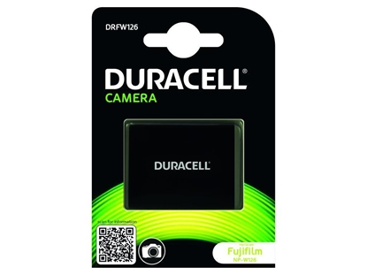 Picture of Duracell Li-Ion Battery 1140mAh for Fujifilm NP-W126