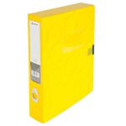 Attēls no Kārba dokumentiem A4/55mm Omega,  Panta Plast,  dzeltena