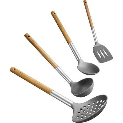 Attēls no Set of kitchen utensils Wood Lamart LT3900 | 4-elements