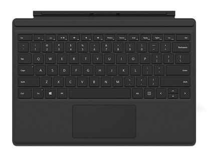 Изображение Microsoft Type Cover with Keyboardr for Microsoft Surface Pro 4/5  Black