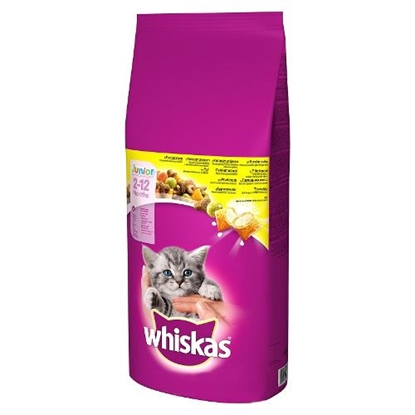 Attēls no ?Whiskas 267261 cats dry food Kitten Chicken 14 kg
