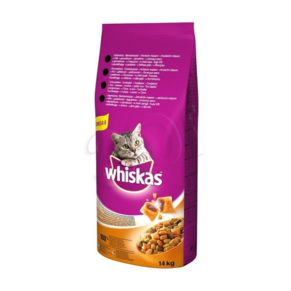 Attēls no ?Whiskas 325614 cats dry food Adult Beef 14 kg