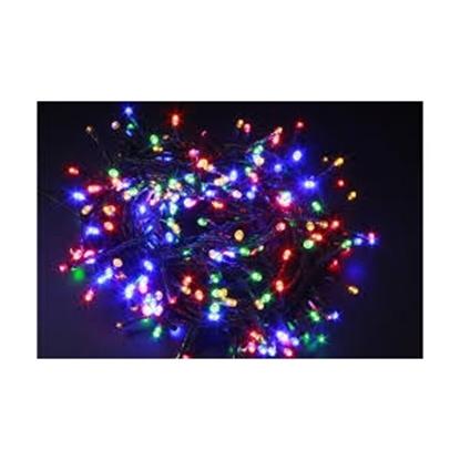 Attēls no 80 LED diožu virtene 4m krāsaina