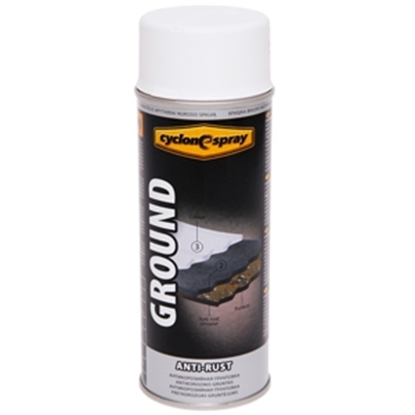 Изображение Aerosolkrāsa  GROUND Anri-Rust balts