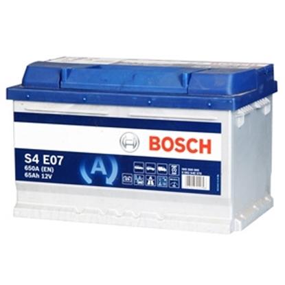 Picture of Akumulators Bosch EFB S4 E07 65Ah 650A Start Stop