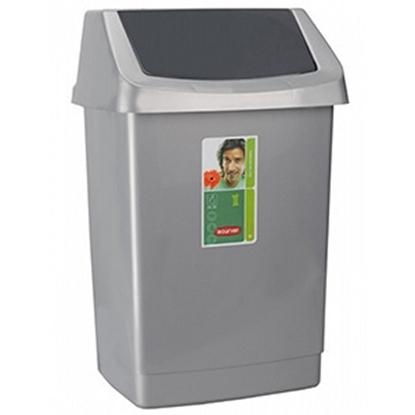 Attēls no Atkritumu tvertne Curver 25l Click-It pelēka