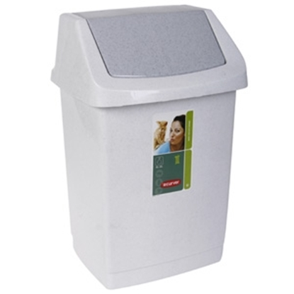 Attēls no Atkritumu tvertne Curver Click-it 15l marm.