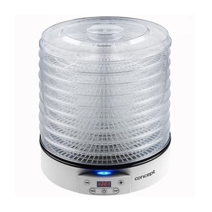 Изображение Augļu žāvētājs Concept 500W 33cm balts