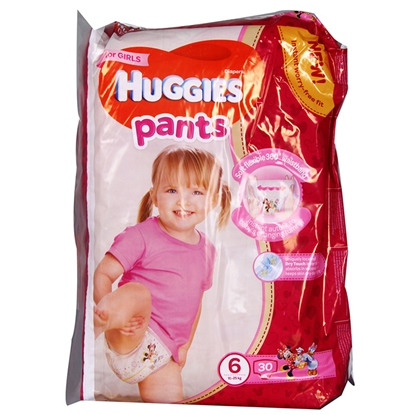 Изображение Autiņbiksītes Huggies Pants Girl 15-25kg 30gab.