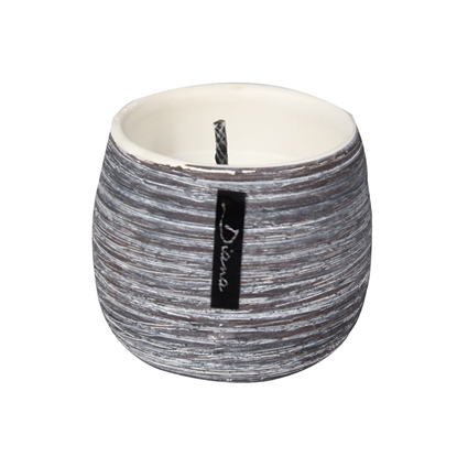 Attēls no Āra svece keramikas traukā 8x6.8cm 10h