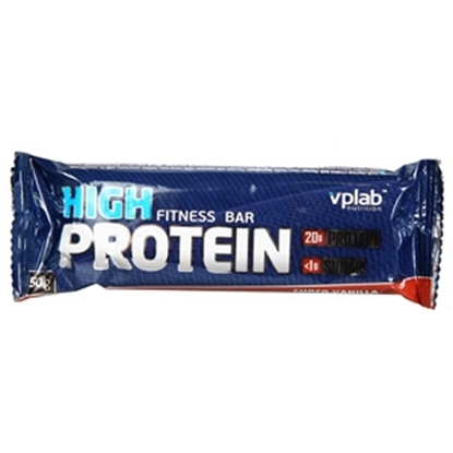 Attēls no Batoniņš VPLAB High Protein Bar šok.-vaniļas 50g