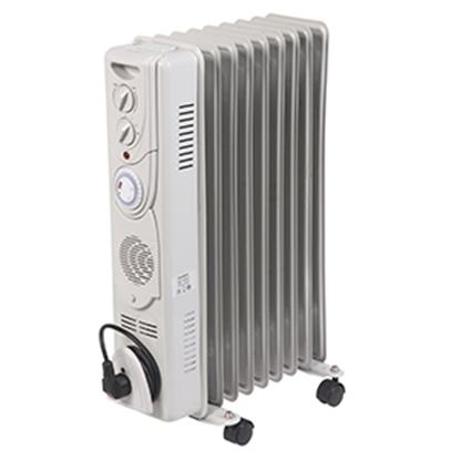 Attēls no Eļļas radiators Comfort 2000W+400W VT
