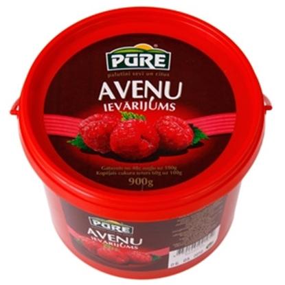 Attēls no Ievārījums aveņu 900g Pure Food