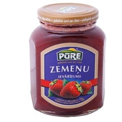 Изображение Ievārījums zemeņu Pure Food 420g