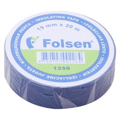 Attēls no Izol.lente PVC 19mmx20m zila