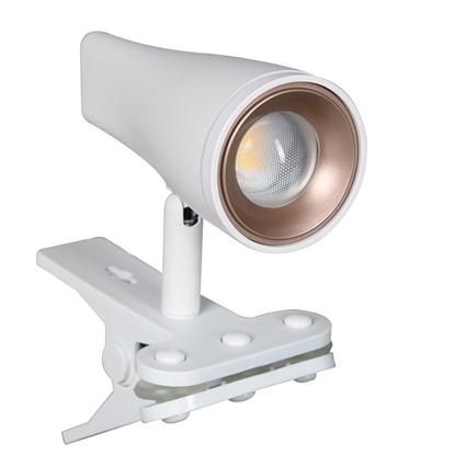 Attēls no Lampa ar knaģi LORRY 4.5W LED 3000K  430lm balta