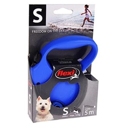 Изображение Pavada suņiem Flexi standart 1 small blue