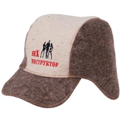 Изображение Pirts cepure Ausaine ar izšuvumiem
