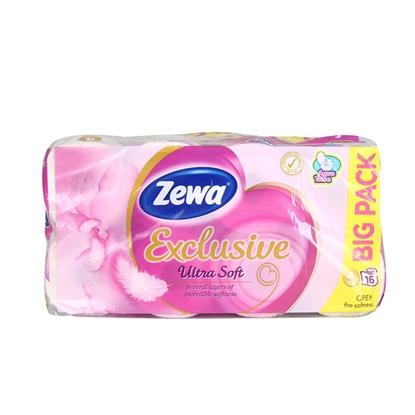 Изображение Tual.papīrs Zewa Exclusive Ultra Soft  4kārtu 16ruļļi