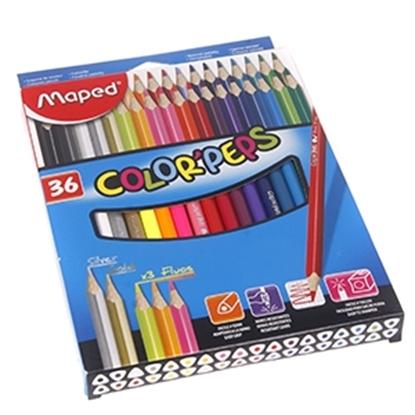 Attēls no Krāsu zīmuļi Maped Color`Peps'' 36-krāsas