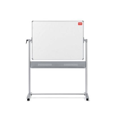 Изображение ESSELTE Abpusēja magnētiska tāfele NOBO Prestige, grozāma, 120 x 150 cm, emaljēta virsma, baltā krāsā