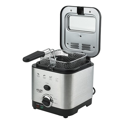 Picture of Adler Fryer AD 4911  Stainless steel, 900 W, 1.5 L