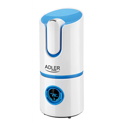 Picture of Adler Ionic Air humidifier AD 7957 Humidification capacity 280 ml/hr, White/ grey, 25 W, Water tank capacity 2.2 L