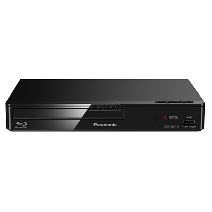 Picture of Panasonic Blu-ray Disc Player DMP-BDT167EG Black, Wi-Fi, USB connectivity