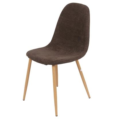 Attēls no Krēsls AXELA 53x42xH83cm brūns