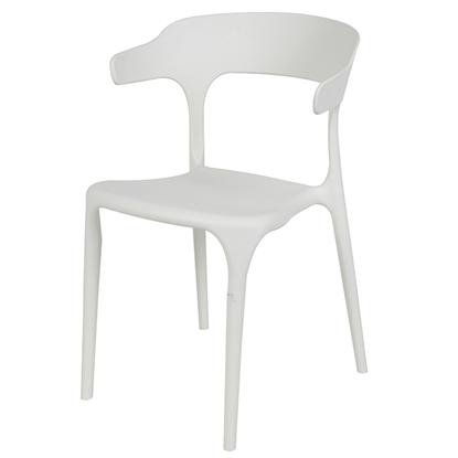Attēls no Krēsls SICILIA 52x51xH77cm balts