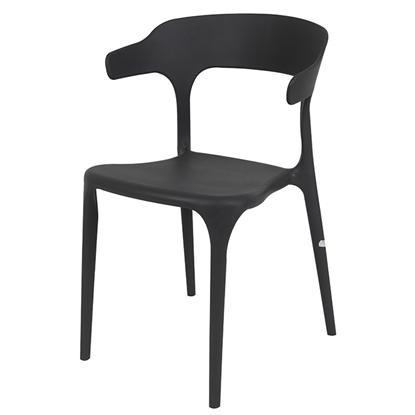 Attēls no Krēsls SICILIA 52x51xH77cm pelēks