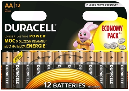 Изображение Duracell 5000394203334 household battery Single-use battery AA Alkaline