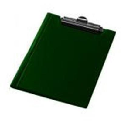 Изображение Planšete A5 Focus ar vāku,  tumši zaļa krāsa