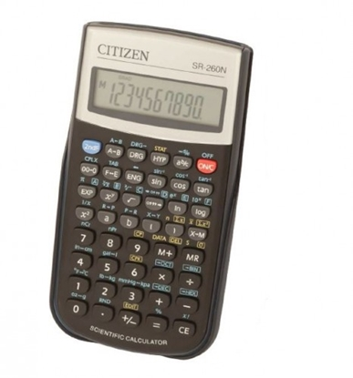 Attēls no Citizen calculator SR-260N