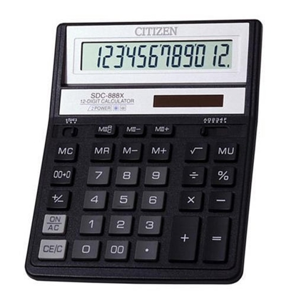 Изображение Citizen calculator SDC-888X