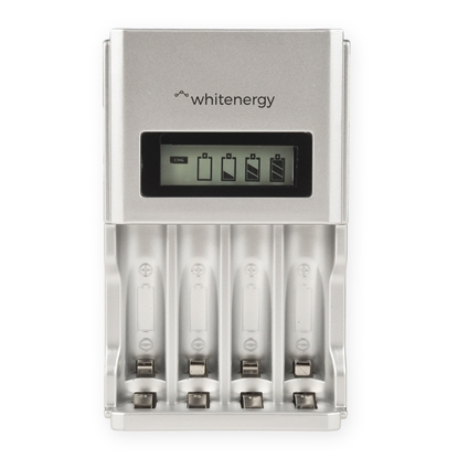 Attēls no Whitenergy high speed LCD charger 4AA/4AAA 1800mA
