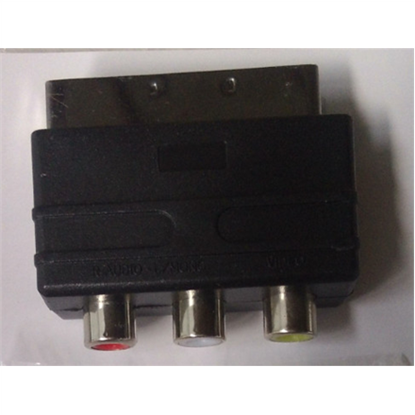 Attēls no Adapter SCART to 3x RCA OEM