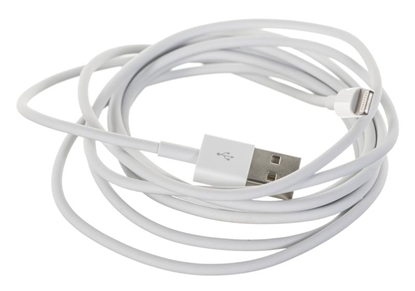 Picture of Apple Lightning - USB USB A, Lightning, 2 m, White