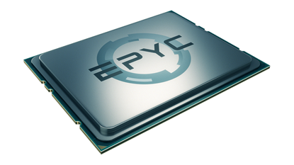 Attēls no AMD EPYC (Twenty-four Core) Model 7401P, Socket SP3, 3.0GHz, 64MB, 170W, BOX