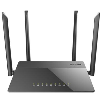 Изображение D-Link Router DIR-841 802.11ac, 300+867 Mbit/s, 10/100 Mbit/s, Ethernet LAN (RJ-45) ports 4, MU-MiMO Yes, Antenna type 4xExternal 5dBi