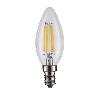 Attēls no ART LED BULB COG filament, candle, lucent E14, 4W, AC230V,WW