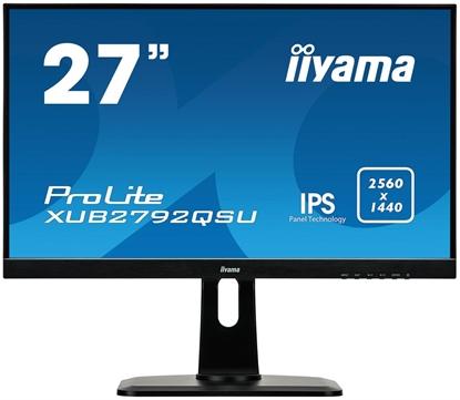 "Picture of LED IPS 27"" XUB2792QSU-B1 WQHD 2560x1440 5M:1 (typ 1000:1) 350cd 178/178 5ms VGA/DVI/DP/HDMI/2xUSB3.0 SPK 2x2W PIVOT HAS C:Black"