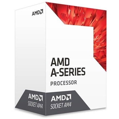 Attēls no AMD A6 9500E, 2C/2T, 3.4 GHz, 1 MB, AM4, 35W, BOX