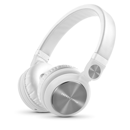 Picture of Energy Sistem DJ2 headphones ar smartphone control with microphone. Guarantee 3 years! (white)
